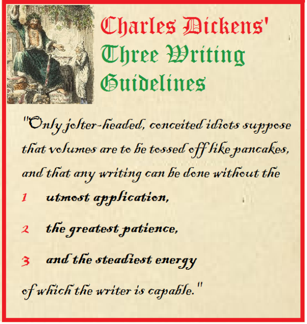 charles dicken 3 rules